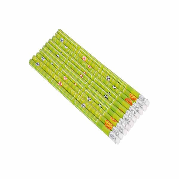 セットがお得 サッカーコート柄のオリジナル鉛筆 単価48円〜【画像3】