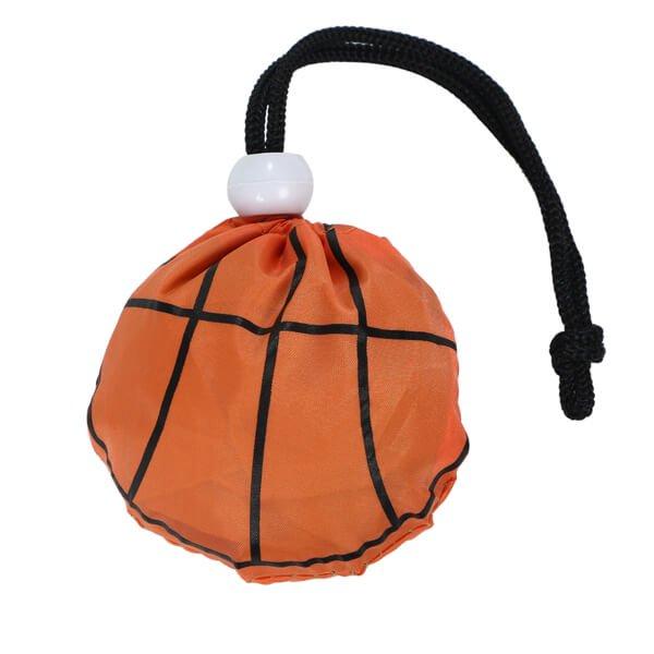 バスケットボール柄のオリジナルエコバッグ バスケが好きで何が悪い【画像6】