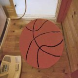存在感抜群大きいバスケットボール型マット