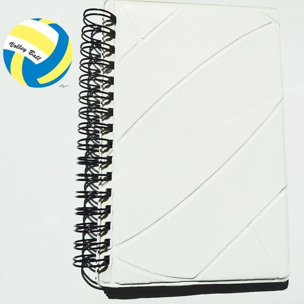 バレーボールの手帳型作戦ノート