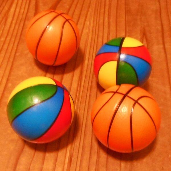 光沢のあるPUバスケットボール 1個