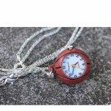 アウトレット(電池切れ) バスケットボール型のネックレス懐中時計
