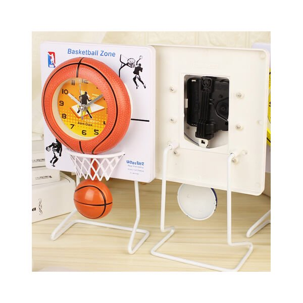 バスケのゴール付き フライングクロック(時計)【画像3】