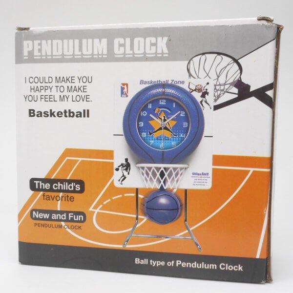 バスケのゴール付き フライングクロック(時計)【画像8】