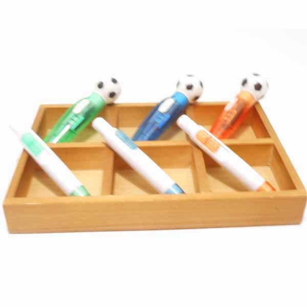 サッカーボール付き ライトボールペン (ランダム1本) 【画像7】