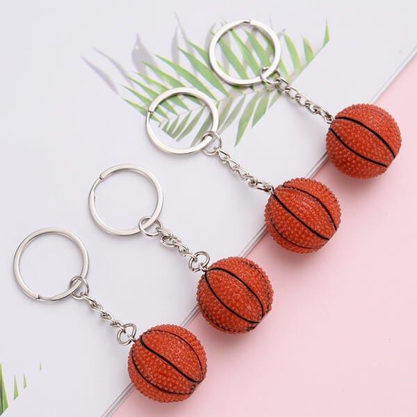 キュートなバスケットボールキーホルダー【画像2】