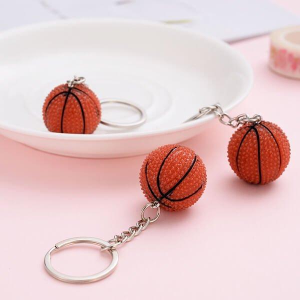 キュートなバスケットボールキーホルダー【画像3】