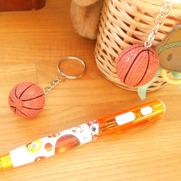 キュートなバスケットボールキーホルダー【画像6】