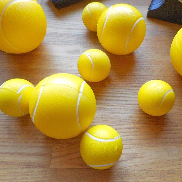 ミニやわらかテニスボール 1個【画像2】