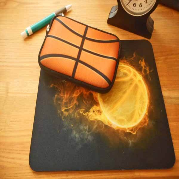 バスケットボールグッズ 可愛いオリジナルミニポーチ バスケットボール柄【画像7】