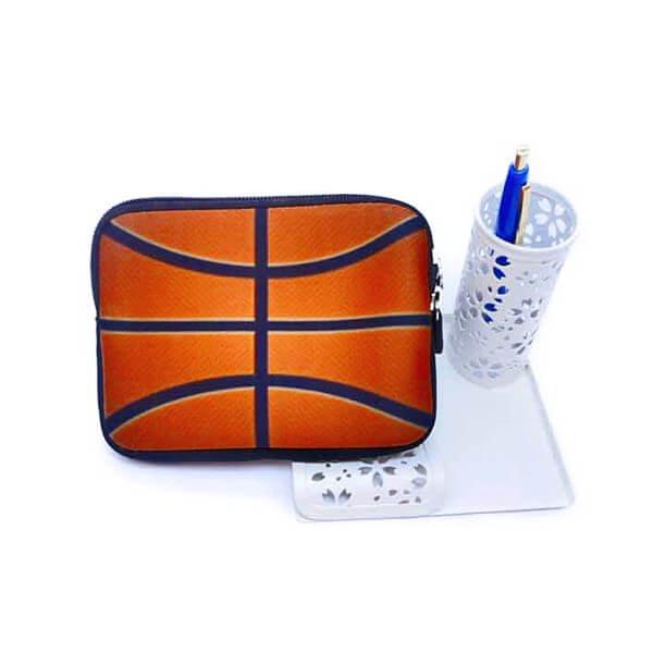バスケットボールグッズ 可愛いオリジナルミニポーチ バスケットボール柄【画像8】