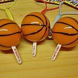 バスケットボール型 必勝! 根付けおみくじ 1個