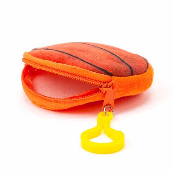 セットでお得 オリジナル小物入れ フック付きバスケットボール 単価328円〜