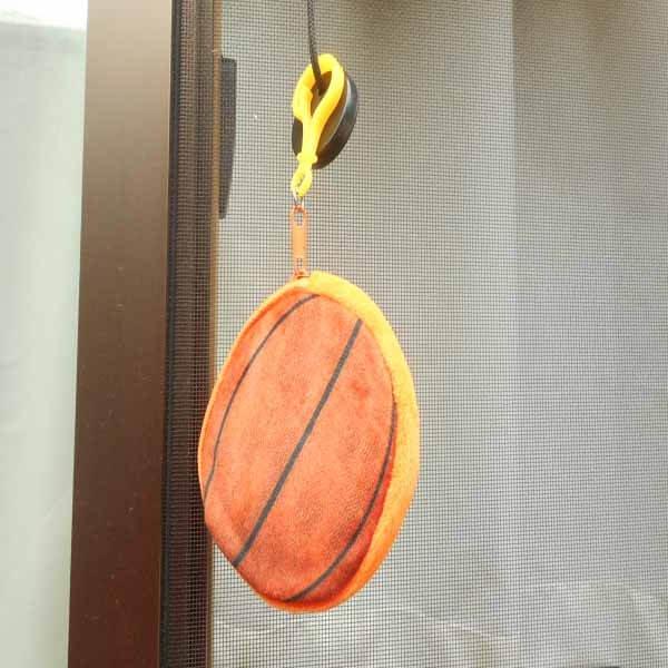 セットでお得 オリジナル小物入れ フック付きバスケットボール 単価328円〜【画像4】
