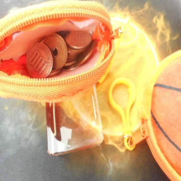 セットでお得 オリジナル小物入れ フック付きバスケットボール 単価328円〜【画像7】