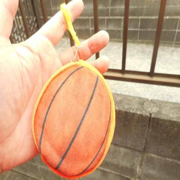 セットでお得 オリジナル小物入れ フック付きバスケットボール 単価328円〜【画像8】