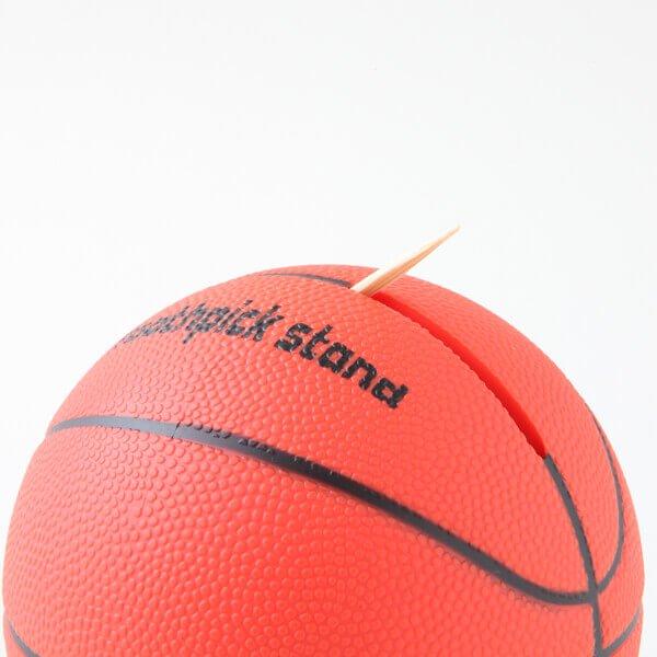 バスケットボール型 インテリア楊枝入れ