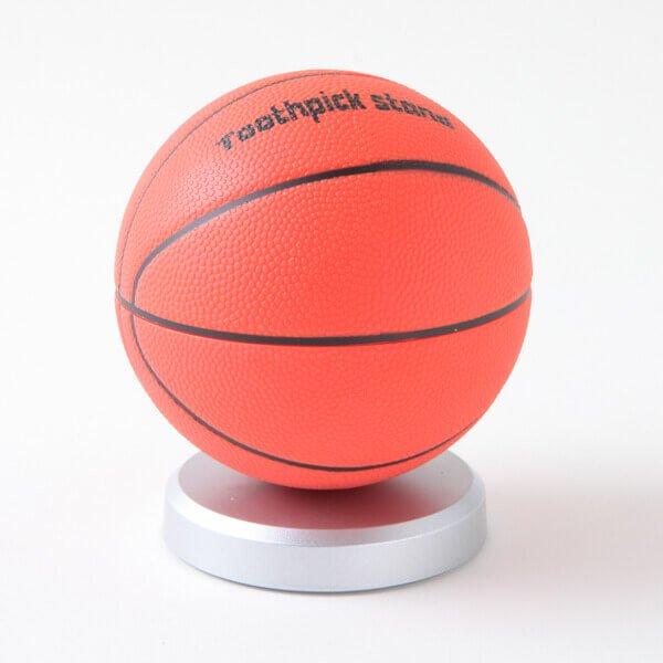 バスケットボール型 インテリア楊枝入れ【画像2】