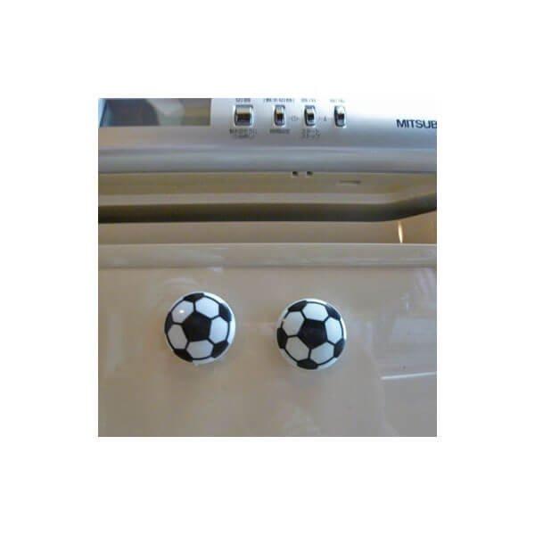 セットでお得! サッカーボール型 プラスチックマグネット(丸型) 単価60円〜