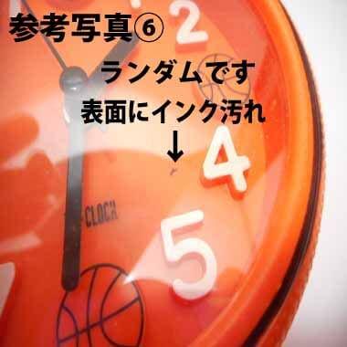 バスケットボール型 コンパクト目覚まし時計【画像12】