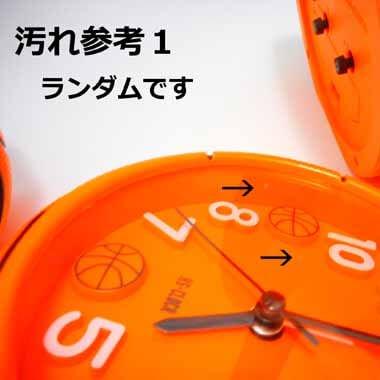 バスケットボール型コンパクト目覚まし時計【画像7】