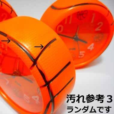バスケットボール型 コンパクト目覚まし時計【画像9】