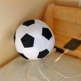 サッカーボール型クッション枕2