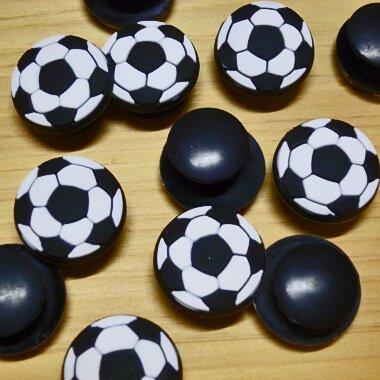 セットがお得! サンダルアクセサリー クロックス ジビッツ サッカーボール型  単価 160円〜【画像2】