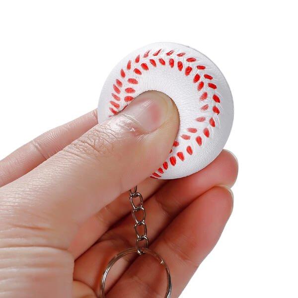 セットがお得! やわらかキーホルダー 野球ボール(大) 単価76円〜【画像3】
