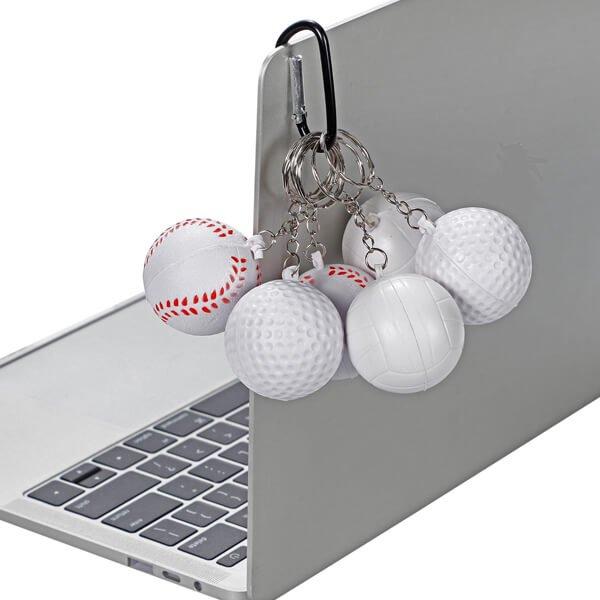 セットがお得! やわらかキーホルダー 野球ボール(大) 単価76円〜【画像6】