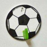 サッカーボール型の壁掛けフック