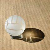 (訳ありのため割引) クリスタルバレーボール 直径40ミリ