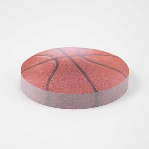 セットがお得! バスケットボール型 カラー付箋メモ帳2 たっぷり 約100枚 単価298円〜【画像3】