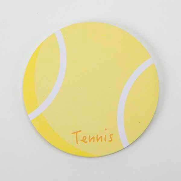 セットでお得!  可愛いテニスボール型のオリジナルカラー付箋メモ  約50枚  単価224円〜【画像2】