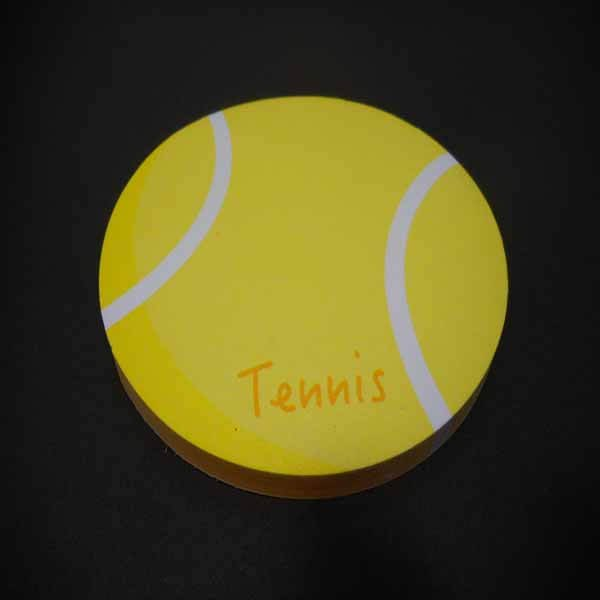 セットでお得!  可愛いテニスボール型のオリジナルカラー付箋メモ  約50枚  単価224円〜【画像5】