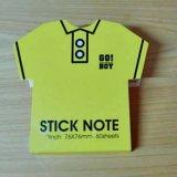 テニス 人気アイテム  カラー付箋紙メモテニスシャツ型