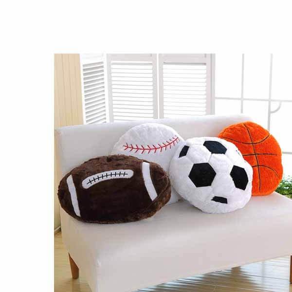 ふわふわクッション 大きいサッカーボール【画像2】