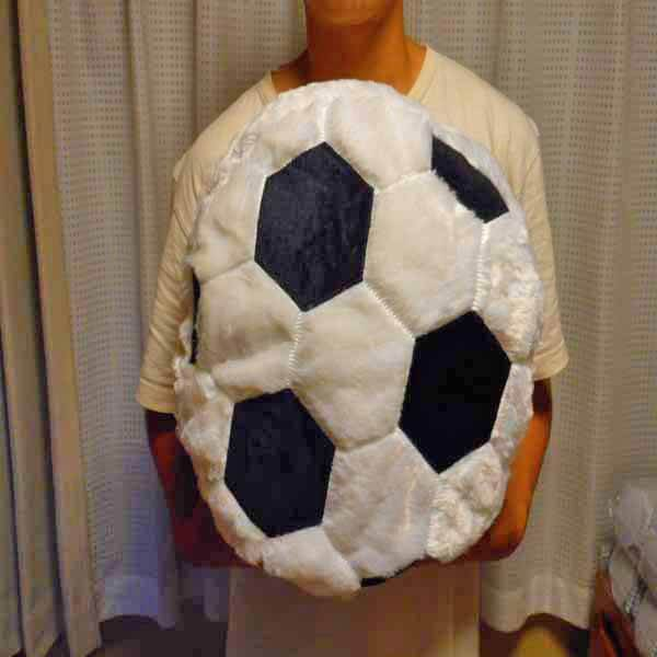 ふわふわクッション 大きいサッカーボール【画像4】