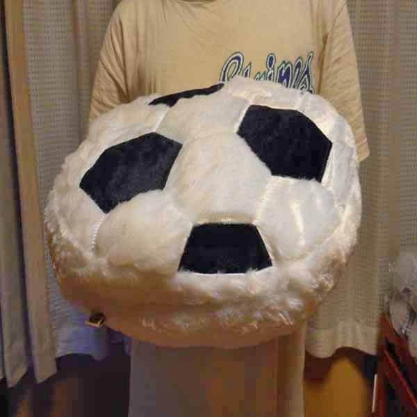 ふわふわクッション 大きいサッカーボール【画像5】