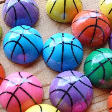 カラフルバスケットボール ホッピングボール(色はランダム)