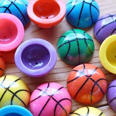カラフルバスケットボール ホッピングボール(色はランダム)【画像2】