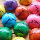 懐かしい! ホッピングボール カラフル野球ボール(ランダム)