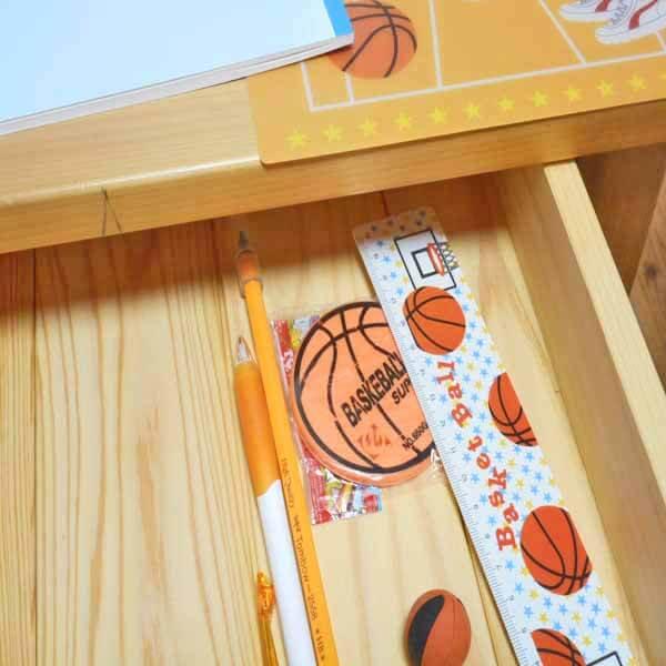 セット購入がお得! バスケットボール柄 オリジナルものさし(定規) 単価88円〜【画像4】