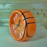 (アウトレット)バスケットボール型のコンパクト目覚まし時計