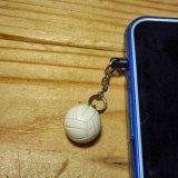 バレー 人気アイテム スマホ プラグデコレーション バレーボール