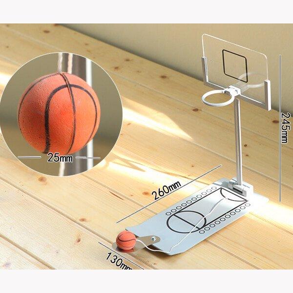 インテリア効果抜群! 卓上バスケットボールゲーム【画像2】