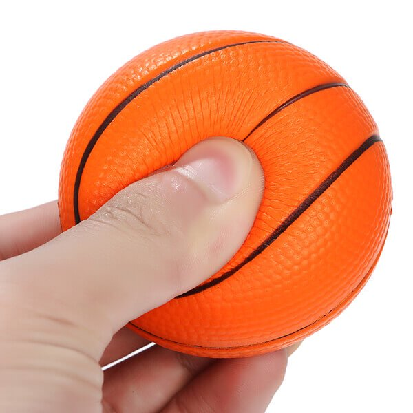 (直径6.3センチ)弾力性があるやわらかバスケットボール1個