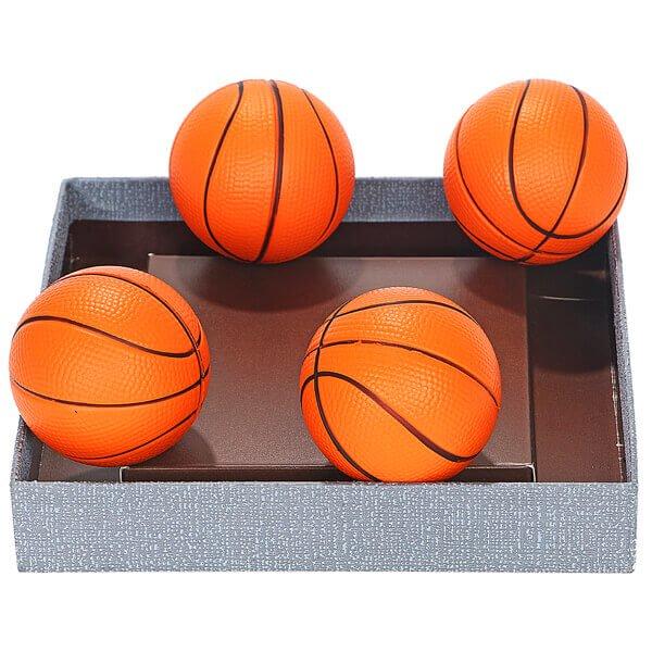 (直径6.3センチ)弾力性があるやわらかバスケットボール1個【画像3】