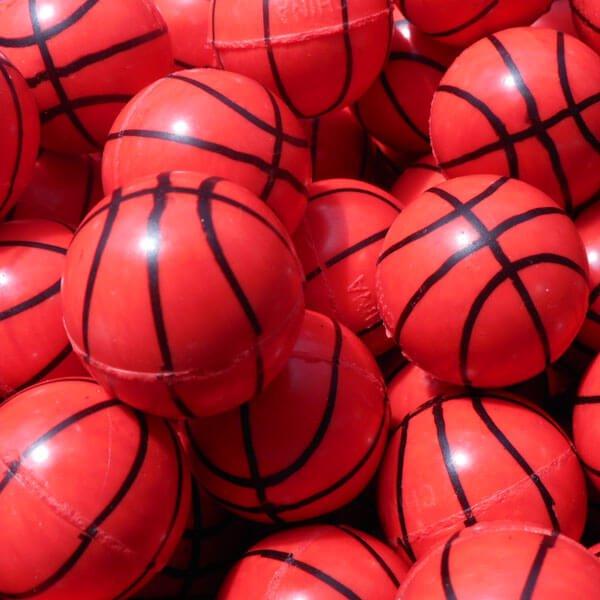 セットがお得 バスケットボール型(濃いオレンジ) スーパーボール 単価39円〜【画像3】