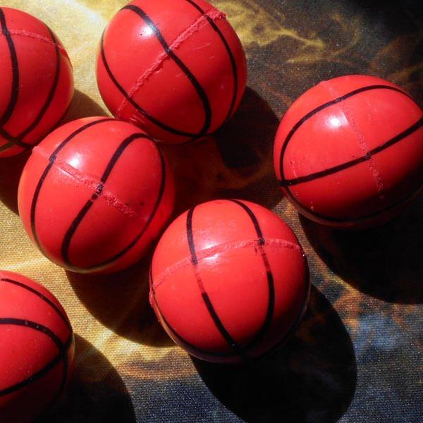 セットがお得 バスケットボール型(濃いオレンジ) スーパーボール 単価39円〜【画像4】
